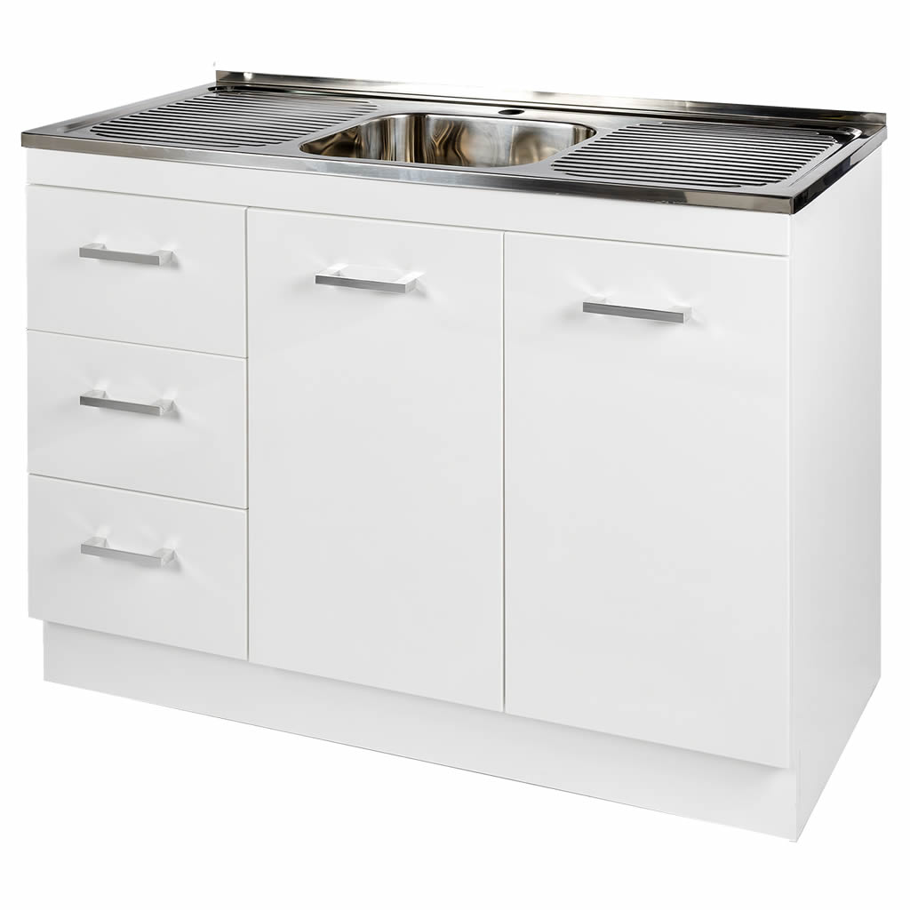 Kitchen Cabinet Sink Base: Kitchenette Sink & Cabinet