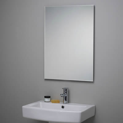 Bevelled edge mirror mirrors perth for Mirror 900 x 600