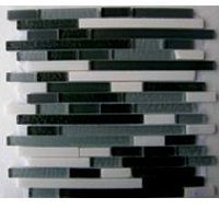 Glass Mosaica Smoke Grey Marble Mix
