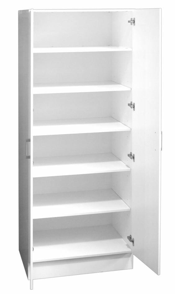 Pantry Linen Cupboard Double Door 80cm With Extra Depth Ross S Discount Home Centre