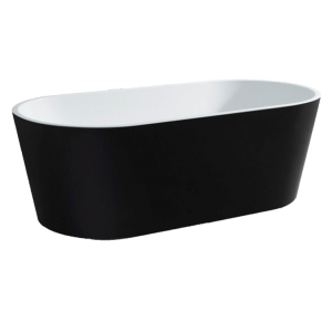 Galaxy Black Oval Freestanding Bath Baths Perth