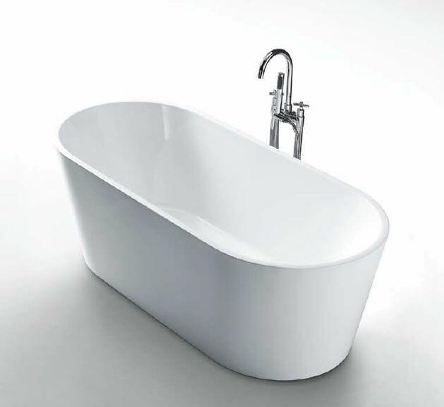 Galaxy Oval Freestanding Bath Baths Perth