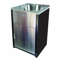 Bold Round 30L Laundry Cabinet & Sink