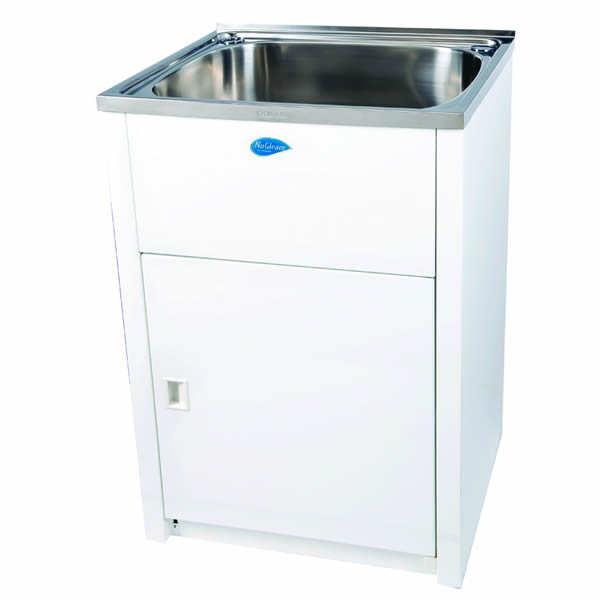 Nugleam maxi laundry cabinets sinks perth for Cheap laundry room cabinets