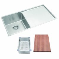 squareline plus single bowl with drainer