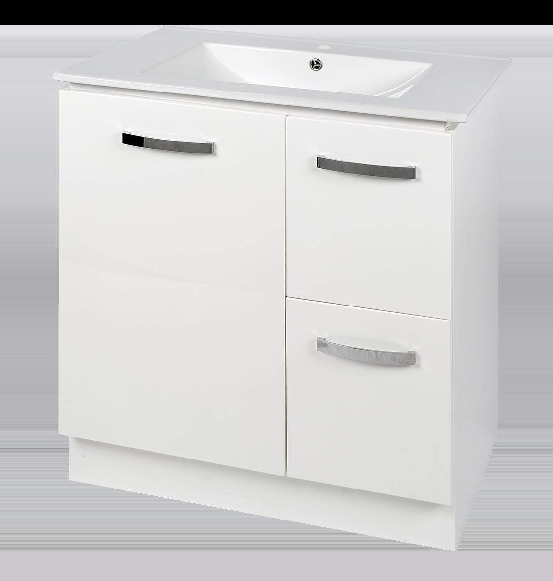 Tianna pvc vanity 100 waterproof bathroom vanities perth for Waterproof bathroom cabinets
