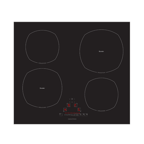 60cm Slider Touch Induction Cooktop