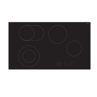 90cm Ceran Electric Cooktop