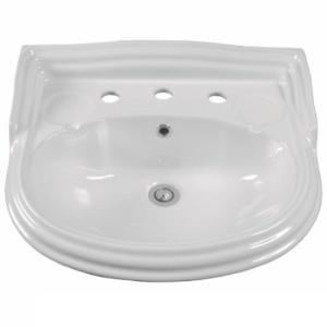 Colonial Wall/Pedestal Basin