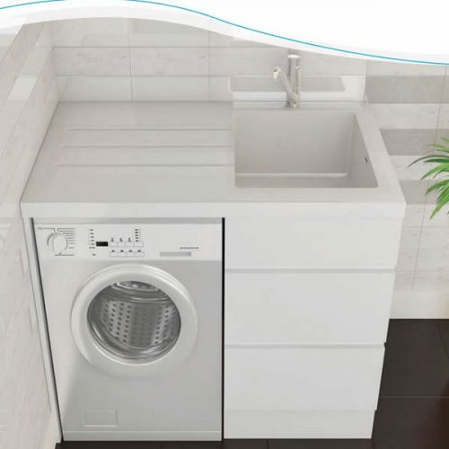 Bloom Laundry Cabinet & Sink