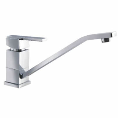 square kitchen sink mixer