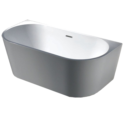 Morocco Back to the Wall Free Standing Bath 170cm
