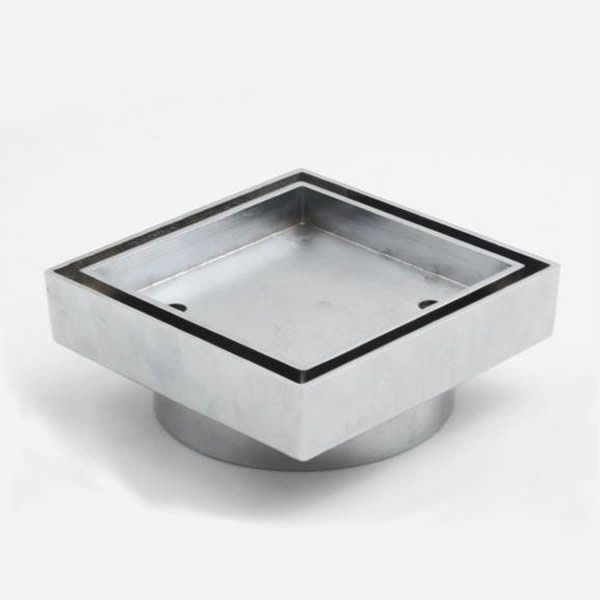 square tile grate