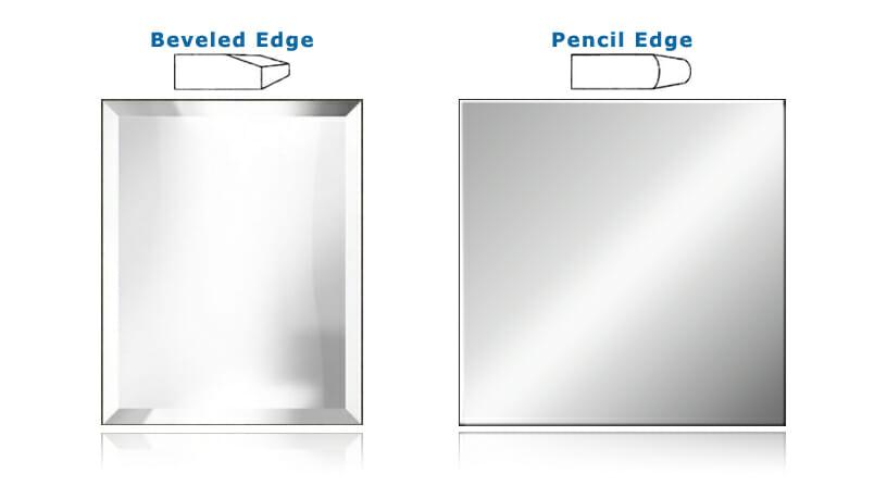 ... Products / Bathroom / Mirrors u0026 Mirror Cabinets / Polished Edge Mirror