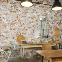 Scraped Wall Tile Motley Discount Perth