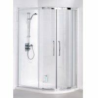 Offset Quadrant Shower Screen