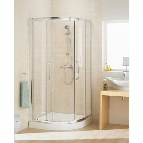Quadrant Shower Open Door