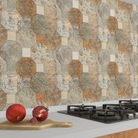 Silex Decor on kitchen wall