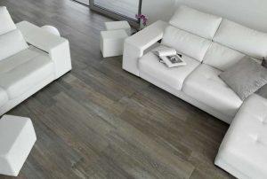 Benefits of wood-look tiles over wooden floorboards