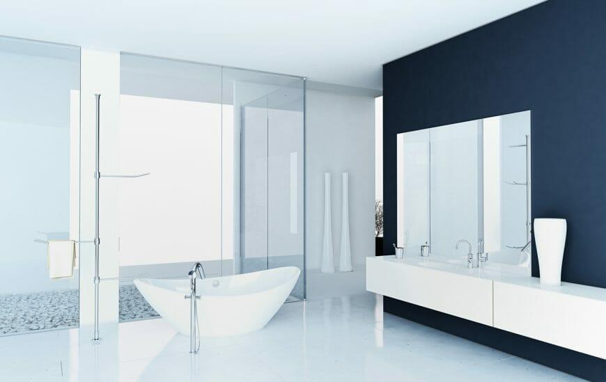 5 tiles perfect for a minimalistic bathroom