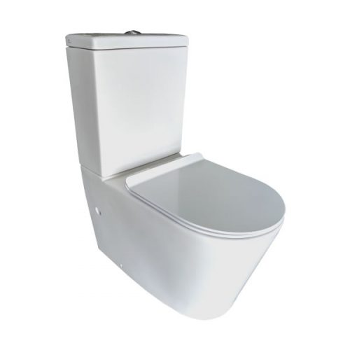 Thin Seat Toilet Suite