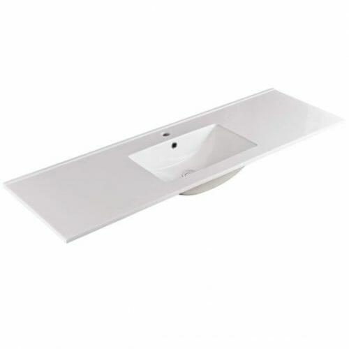 150cm Single Bowl Ceramic Vanity Top