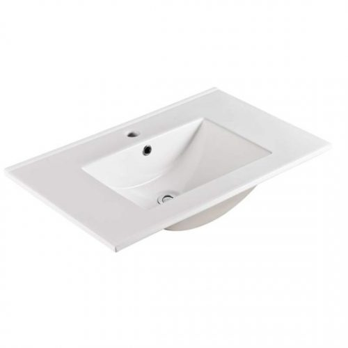 75cm Ceramic Vanity Top