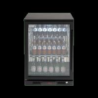 138lt Beverage Cooler (Black L Hinge)