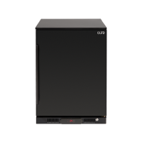 138LT Beverage Cooler (R Hinge) (Black Door Solid)