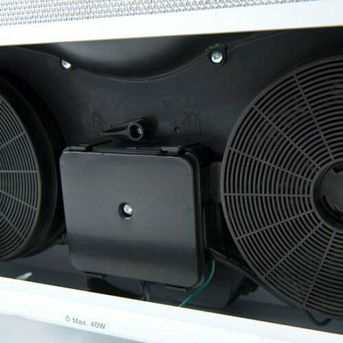 60cm Front Vent Recirculating - internals