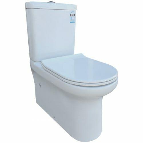Peak Rimless Toilet Suite