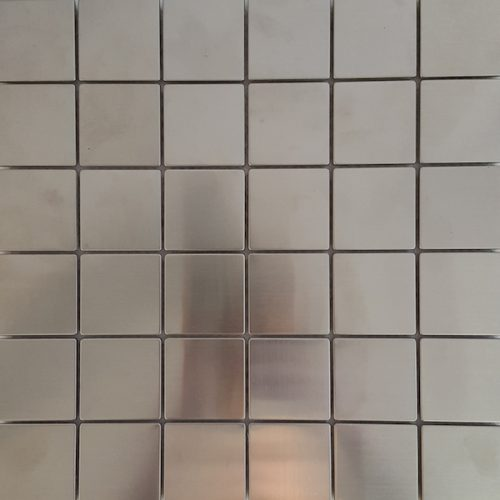 Stainless-Steel Mosaic (Matte)