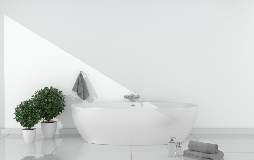 3 Benefits of Freestanding Baths over Insert Baths