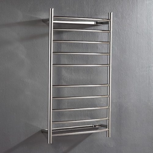 Heated Curved Towel Rail 1000 x 530 x 150