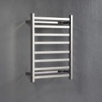 Heated Flat Squared Towel Rail 700 x 530 x 122
