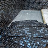 How to Lay Mosaic Tiles in a Shower