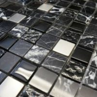 Cafe Espresso 23 x 23 mosaic tile discount perth