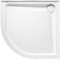 Evo Polymarble Curved with Rear Outlet