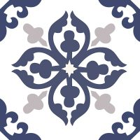 Isla Navy Ceramic Tile