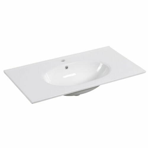 90cm Ceramic Vanity Top Round Bowl